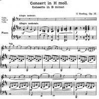 О.Ридинг Концерт си минор.
