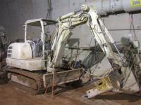 Гидромолот SB43 на тоннельном ...
