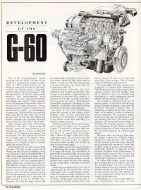 Development of the G60.
