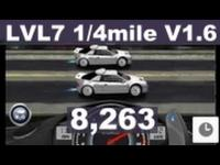 Drag Racing level 7 Ford RS200