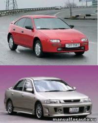 Скачать Руководство по ремонту Mazda 323 ...