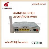 GPON ONU 4LAN+2POTS+WIFI+USB