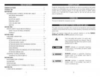 user s and service manual
