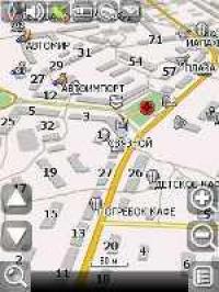 Карта Навител города Кандалакша