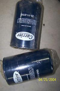 TWO CARRIER TRANSICOLD OIL FILTERS PART# 20-11-5703