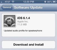 iOS 6.1.4 для iPhone 5 с